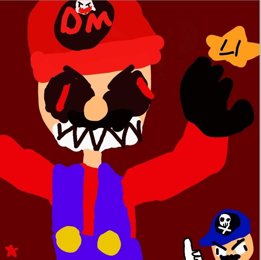 Devil Mario Smg4 Amino
