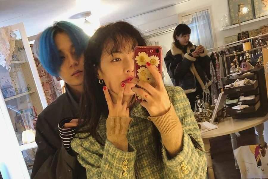 Hyuna pentagon edawn Edawn and