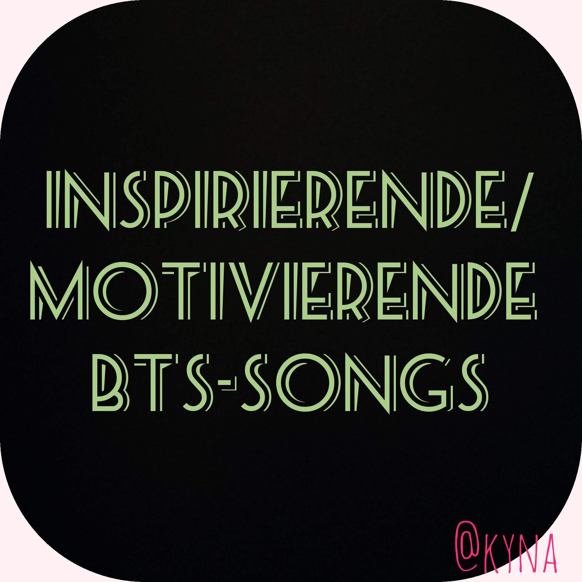 Motivierende Songs
