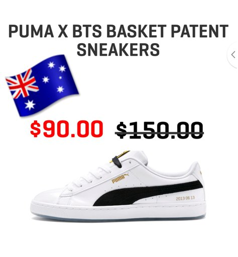 PUMA x BTS Korg Patent Sneaker Unboxing!ARMY: s Amino