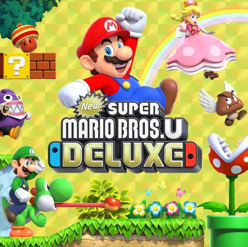 New Super Mario Bros U Deluxe Wiki Nintendo Switch Amino