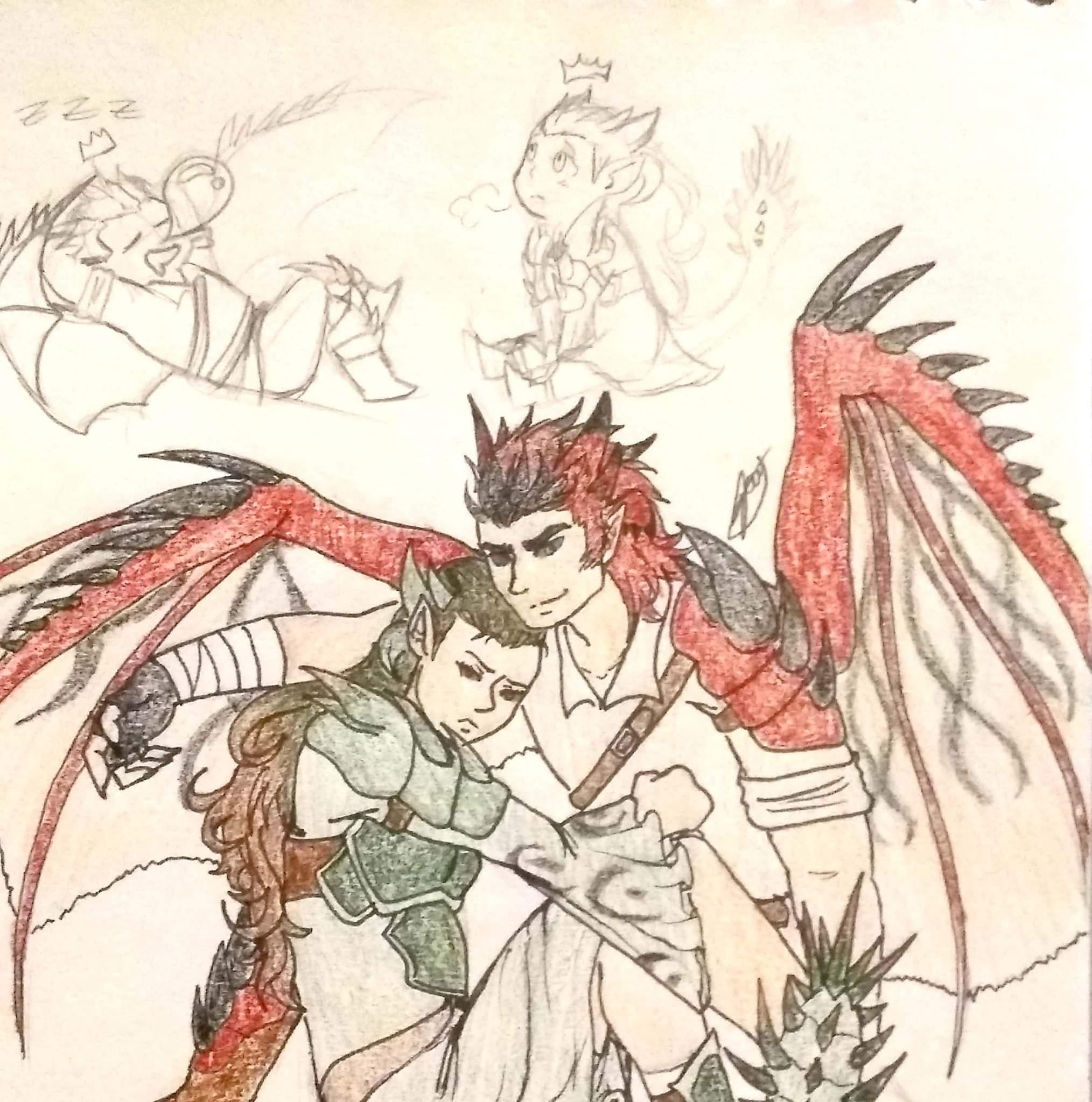 Rathalos And Rathian Gijinka Monster Hunter Amino