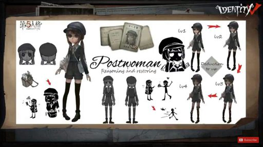 Postman(Postwoman(Почтальон)   Wiki   Identity V【RUS】 Amino