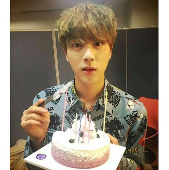 Happy Birthday To Are Beloved Jin We Love You Worldwide Handsome Bts Amino