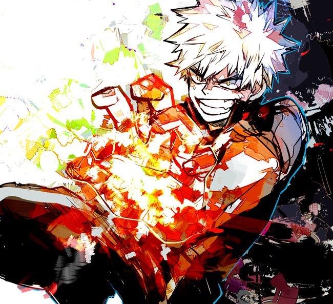 Katsuki Bakugou x Reader  I'M NOT JEALOUS! | My Hero Academia Amino