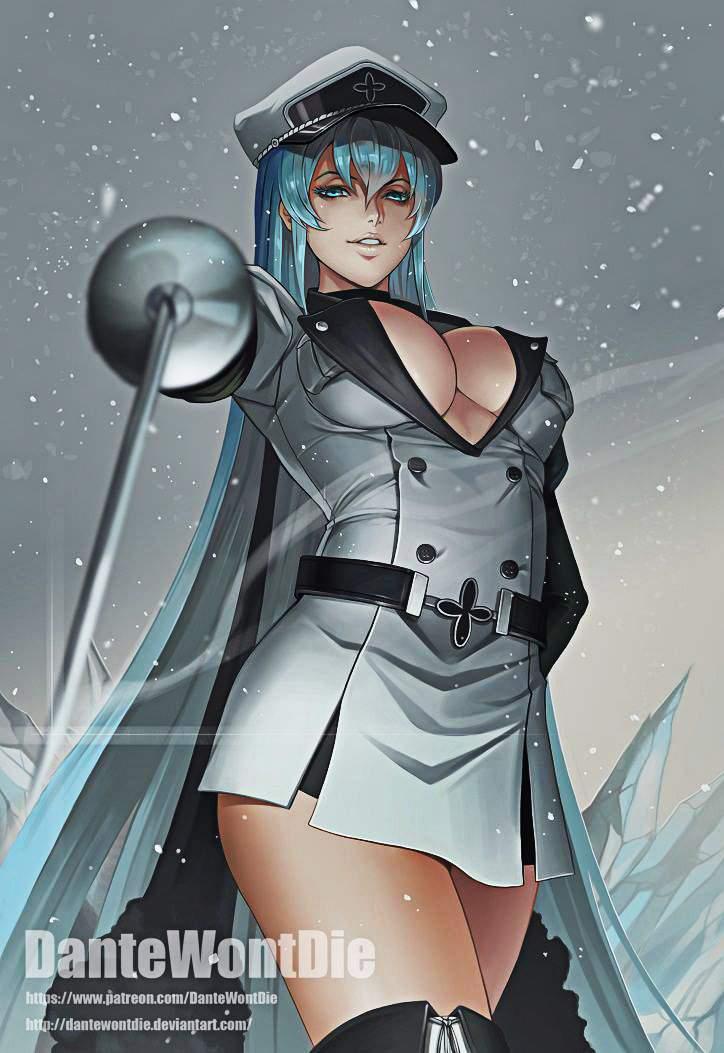 Image - Esdeath (Akame ga Kill Ep06).jpg | AnimeVice Wiki