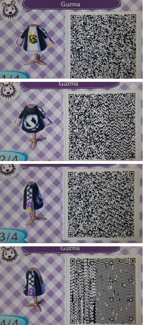 A Bunch Of Team Skull Pro Designs For Animal Crossing New Leaf
