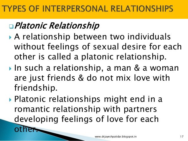 What it meaning platonic relationship dating