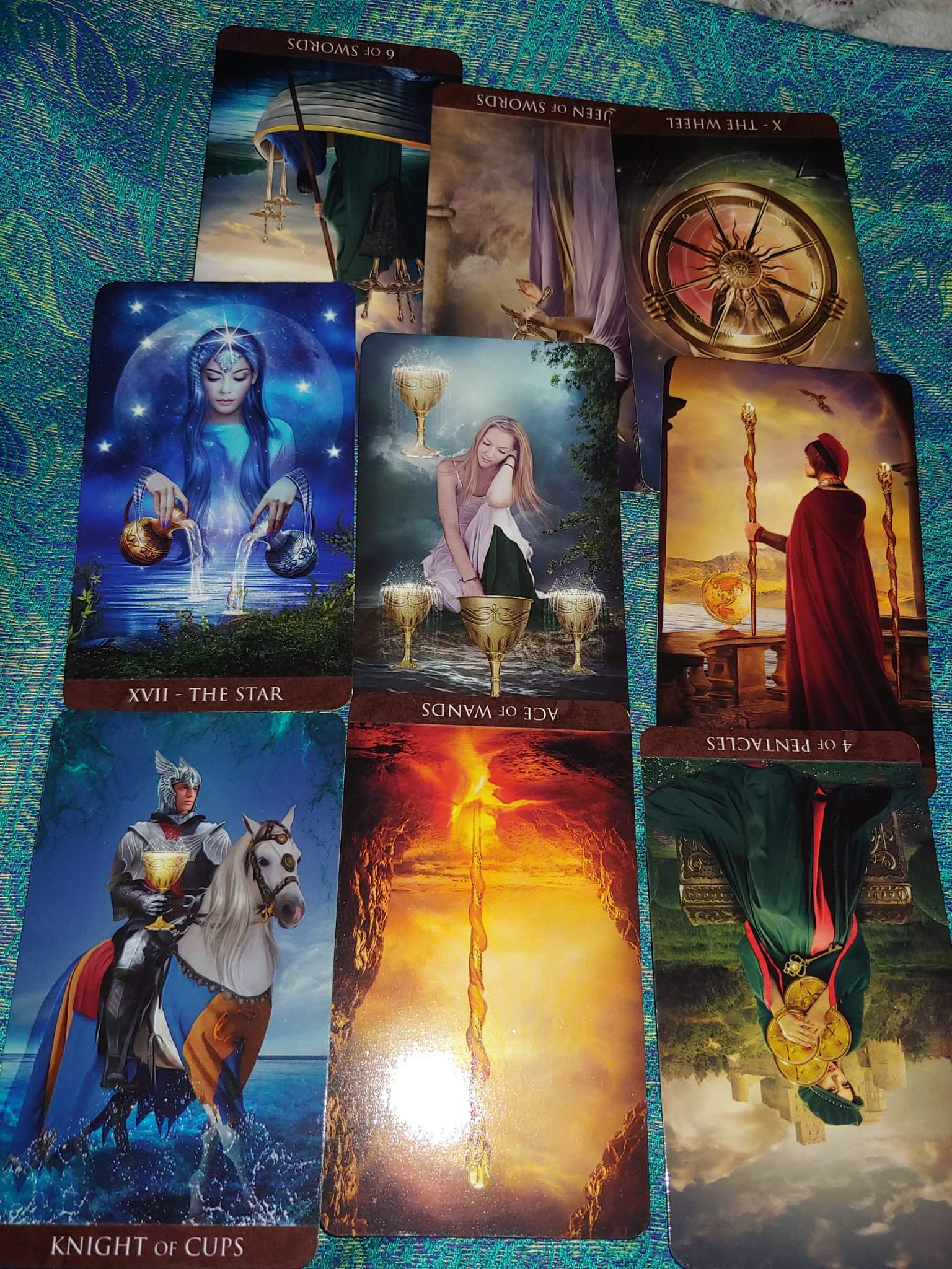 Female perspective of the codependent union   Tarot and