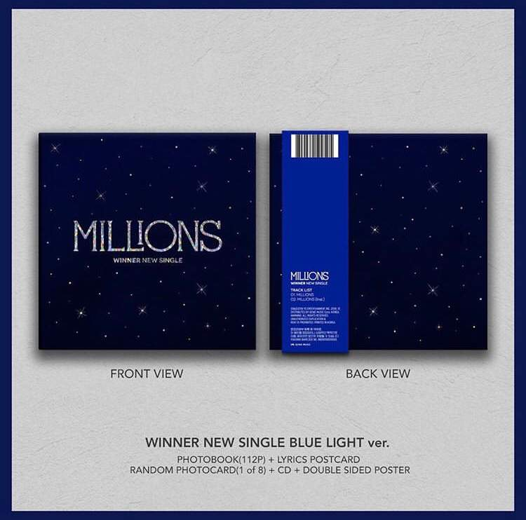 WINNER's MILLIONS album pre-order | WinnerCity Amino