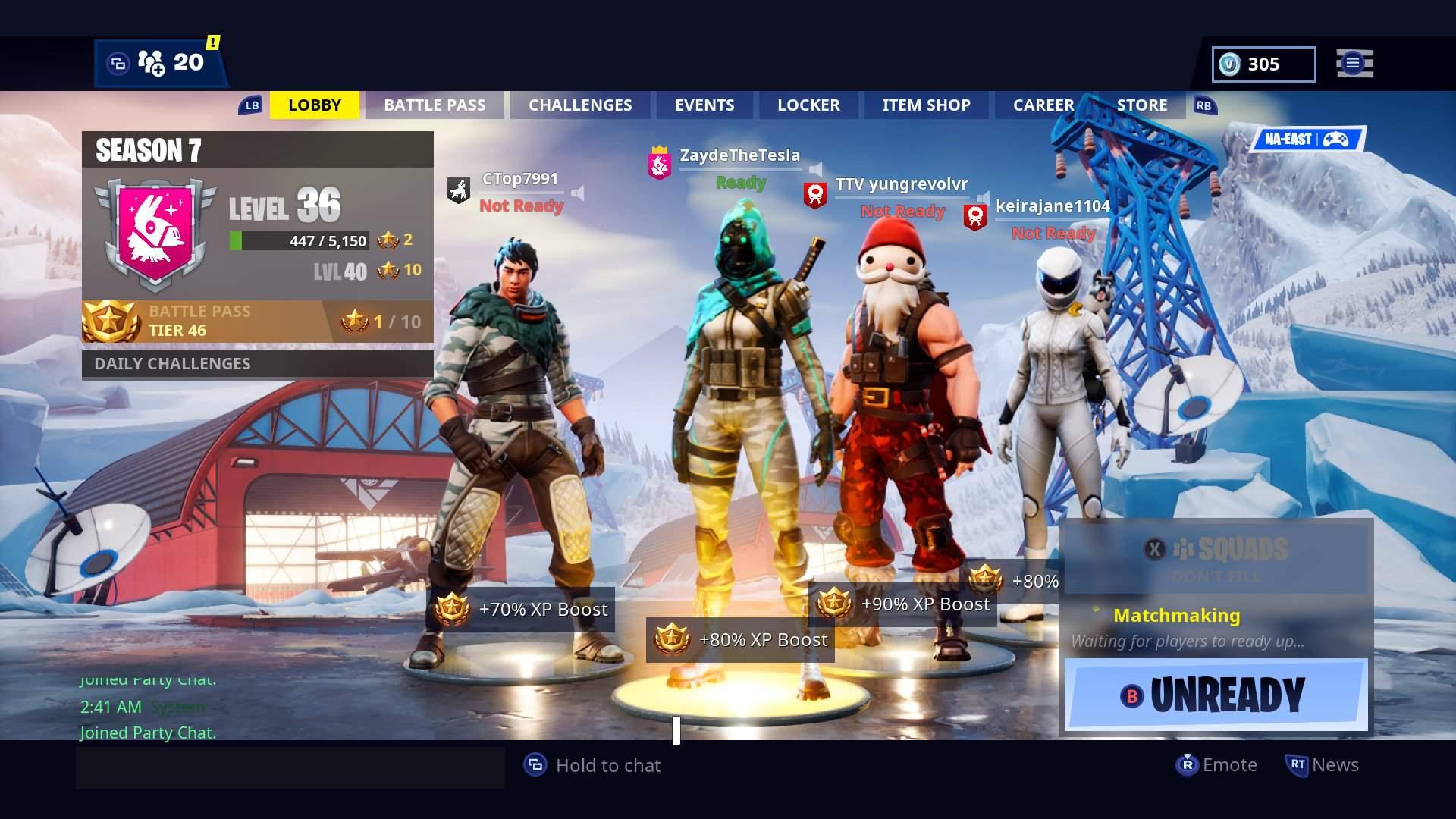 I'm starting to twitch stream w/anyone | Fortnite: Battle Royale