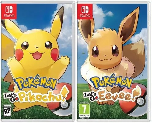 Pokemon Let S Go Pikachu Y Let S Go Eevee Anime Manga Y