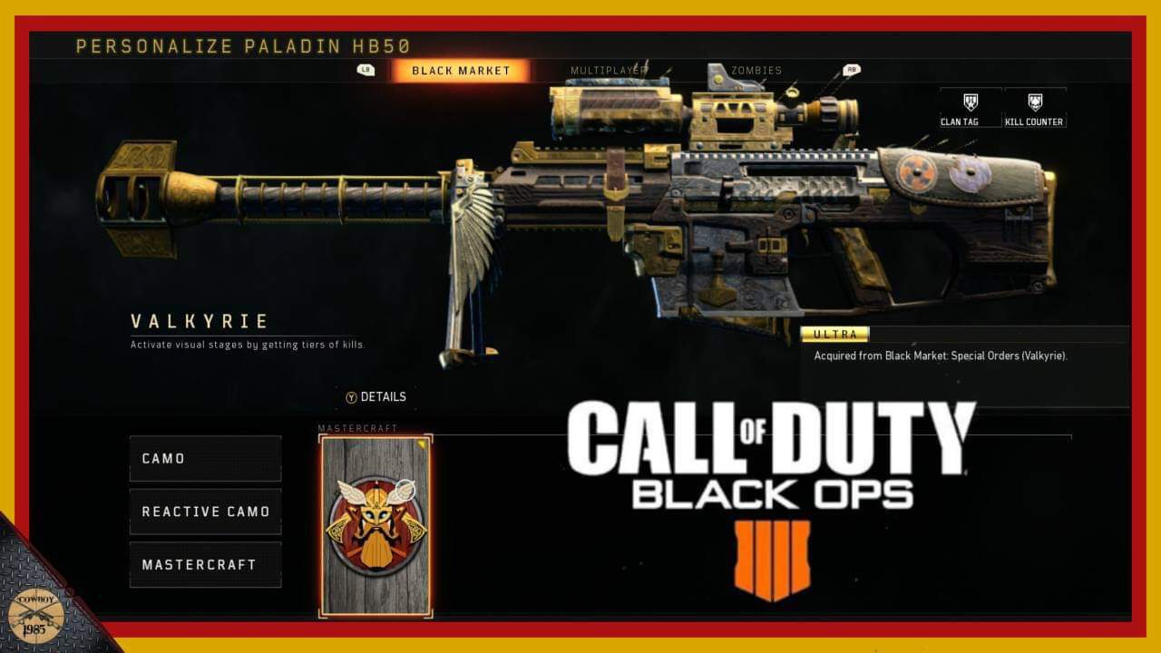 New Sniper Rifle In Call Of Duty Black Ops 4 Valkyrie Cod Amino