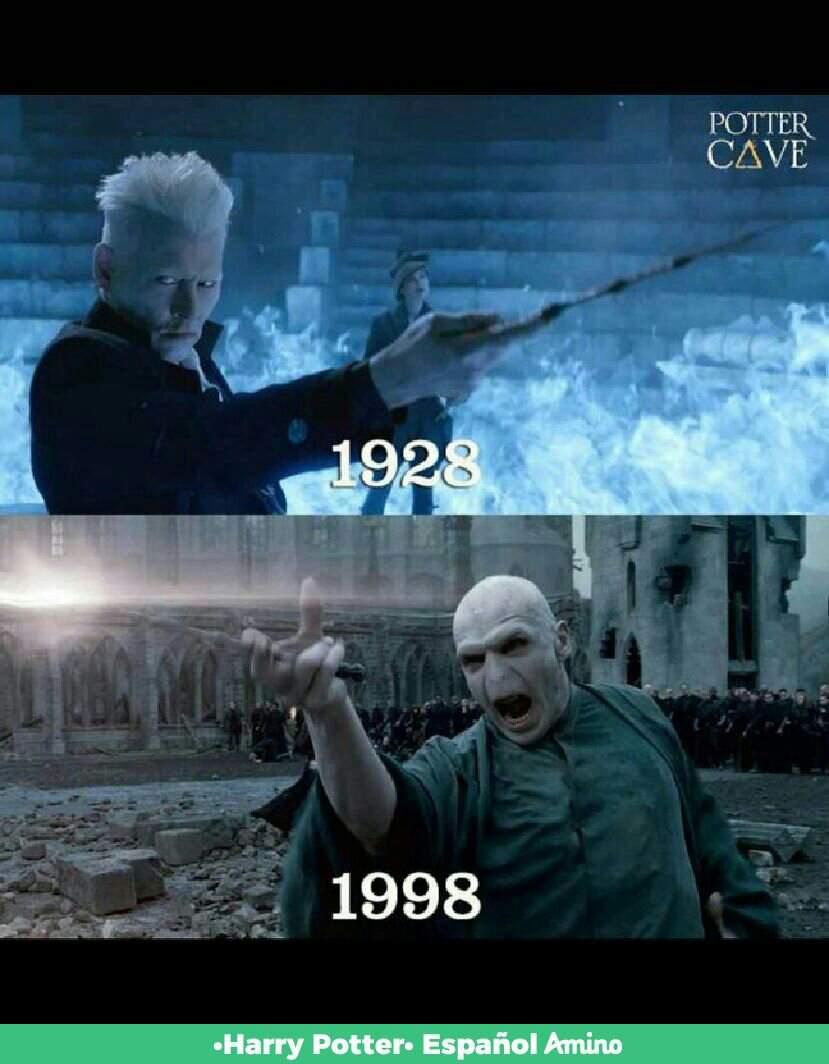 Grindelwald Vs Voldemort