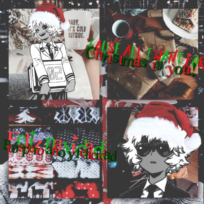 Mina Christmas Edit My Wife My Hero Academia Amino
