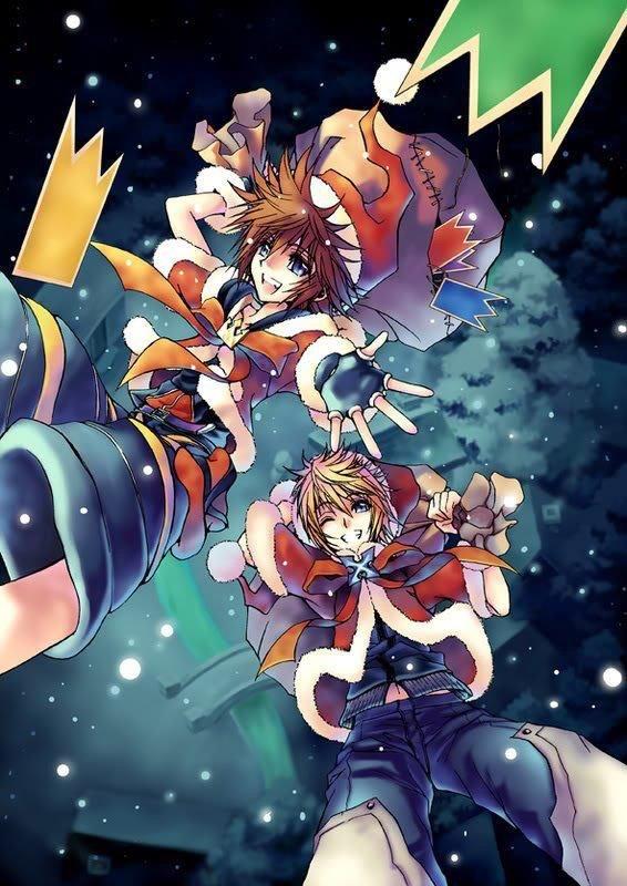 Kingdom Hearts Christmas.Merry Christmas Keyblade Wielders Kingdom Hearts Amino