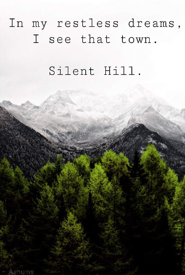 Newest Silent Hill 2 Inspired Wallpaper Edit The Silent Hill