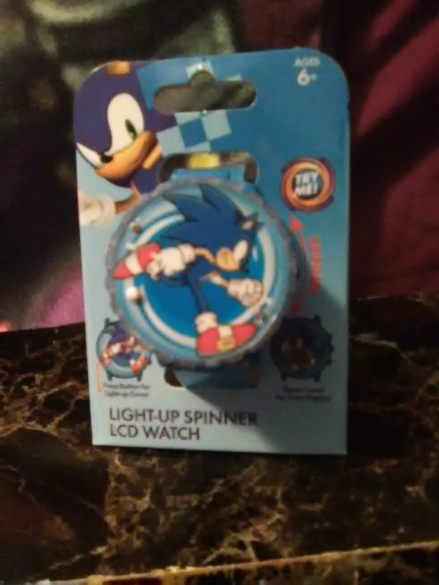 Last But Not Lease My Final Gift Sonic The Hedgehog Light Up Spinner Lcd Watch Sonic The Hedgehog Amino