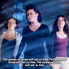 the power of three will set us free