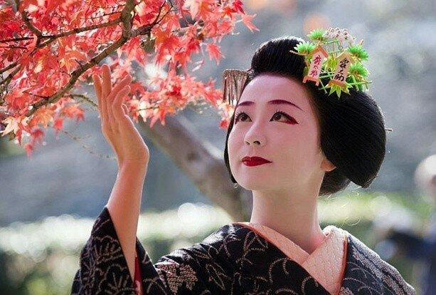 Секс японкие гейшы