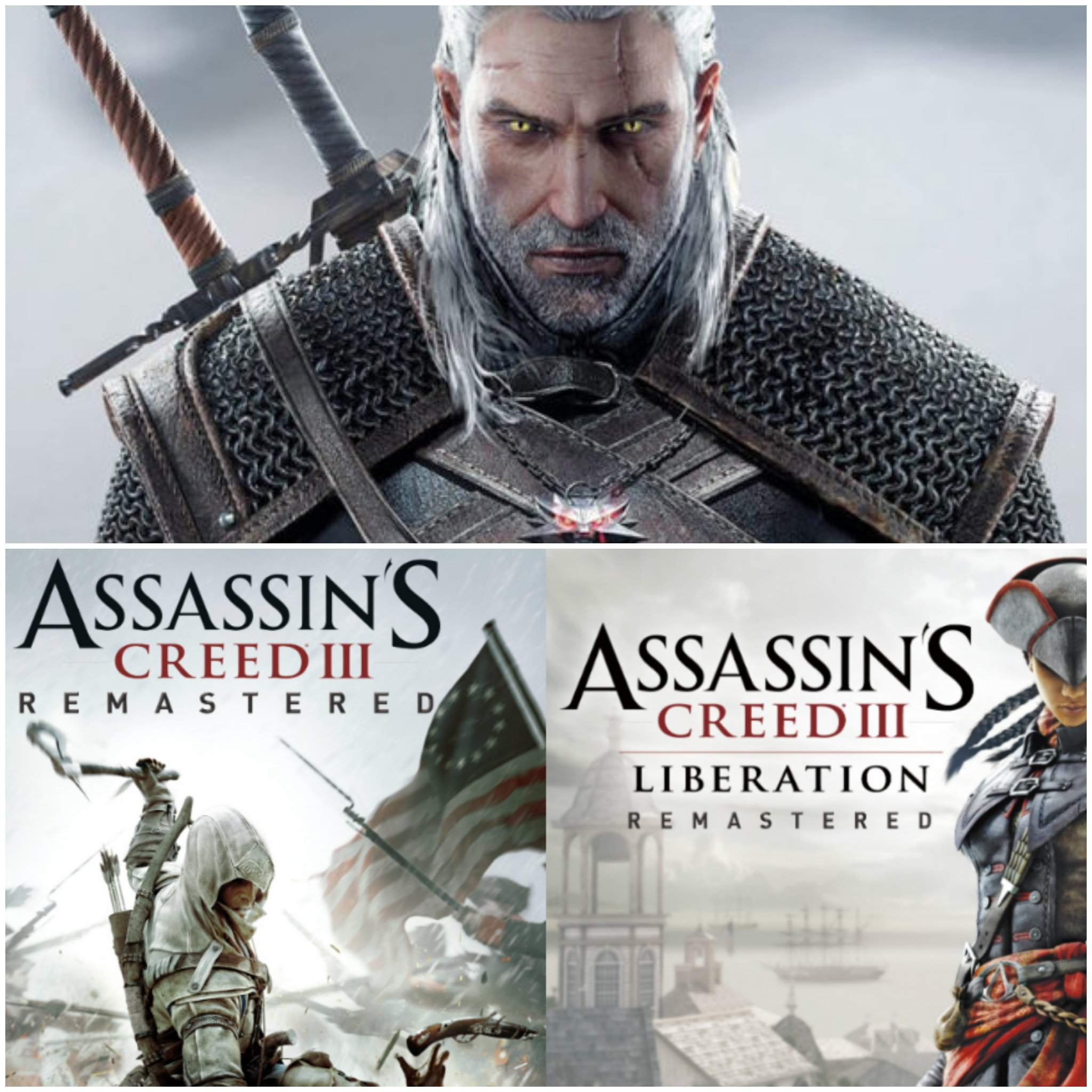 The Witcher 3 And Assassin S Creed 3 Liberation Remastered