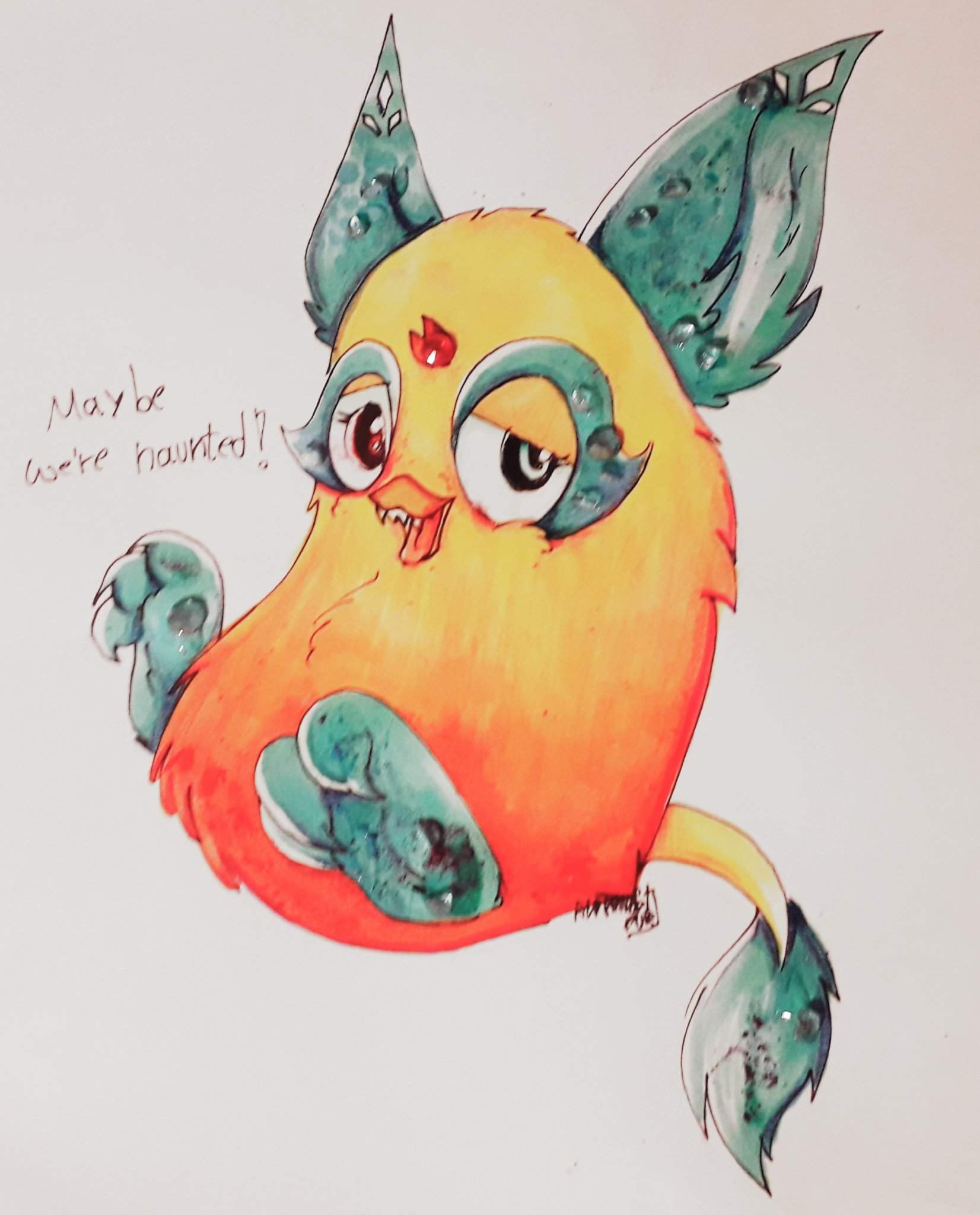 Art Of My New Baby That Is Coming Soon X3 Furby Amino