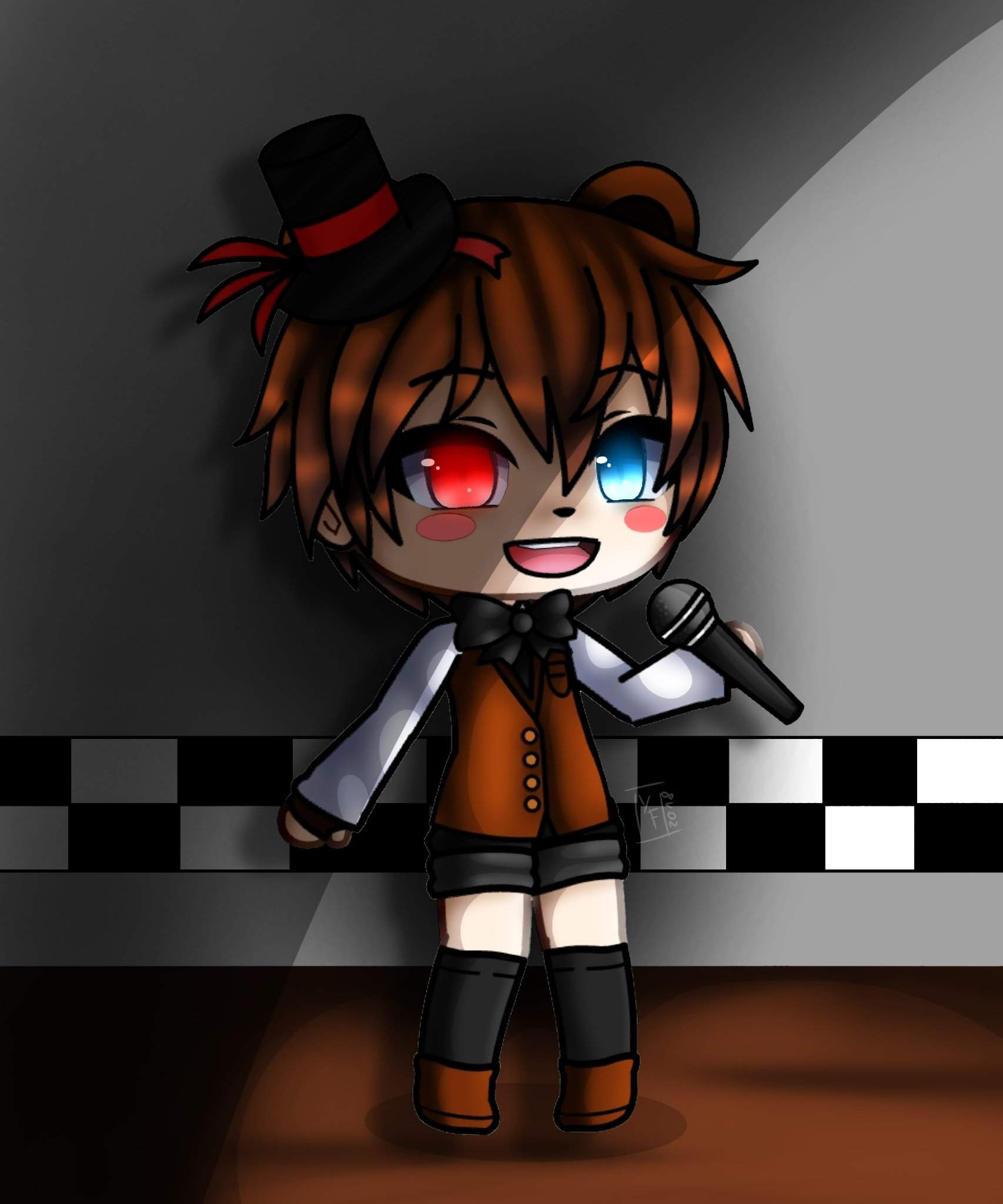 My characters (if fnaf 7 Existed)   Five Nights At Freddy