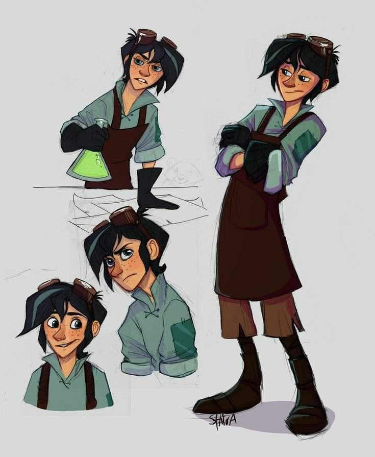 Drawing Varian From The Tangled Series