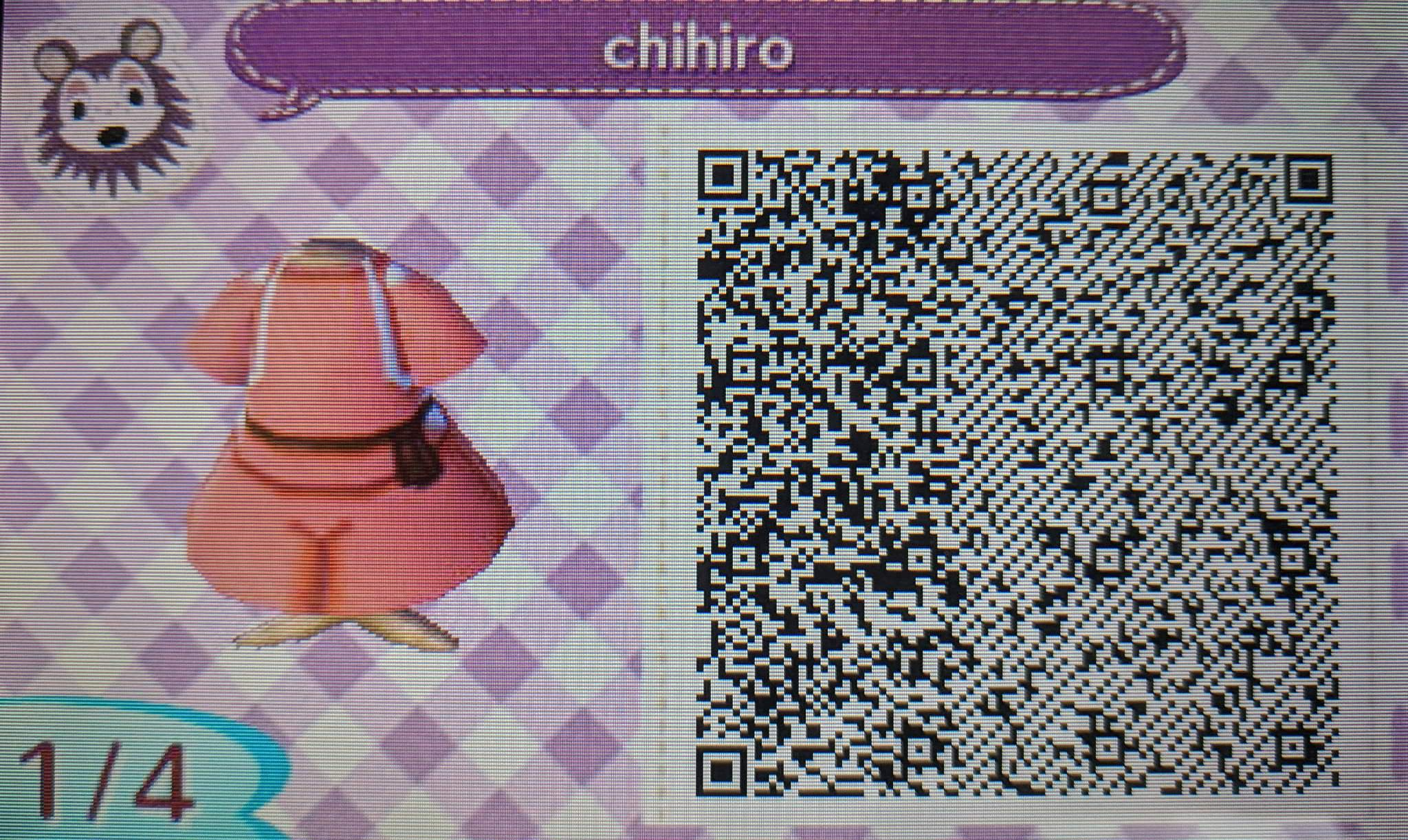 Qr Spirited Away Outfit Animal Crossing Amino