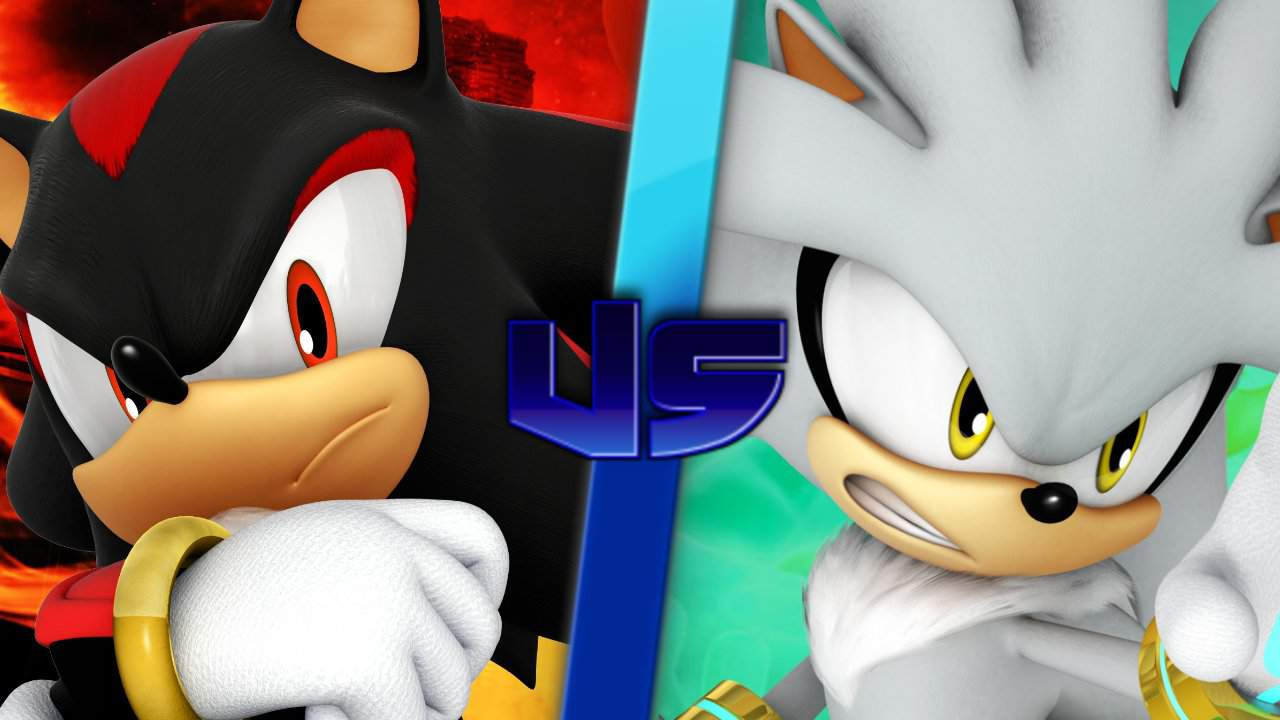 Shadow The Hedgehog Vs Silver The Hedgehog Who Would Win Sonic The Hedgehog Amino