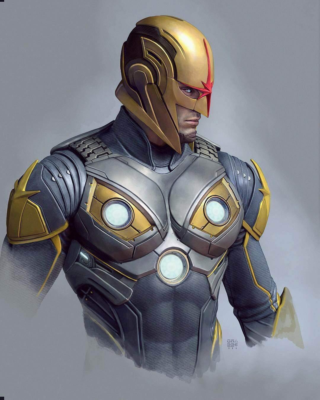 Daredevil Yellow Suit Concept Art