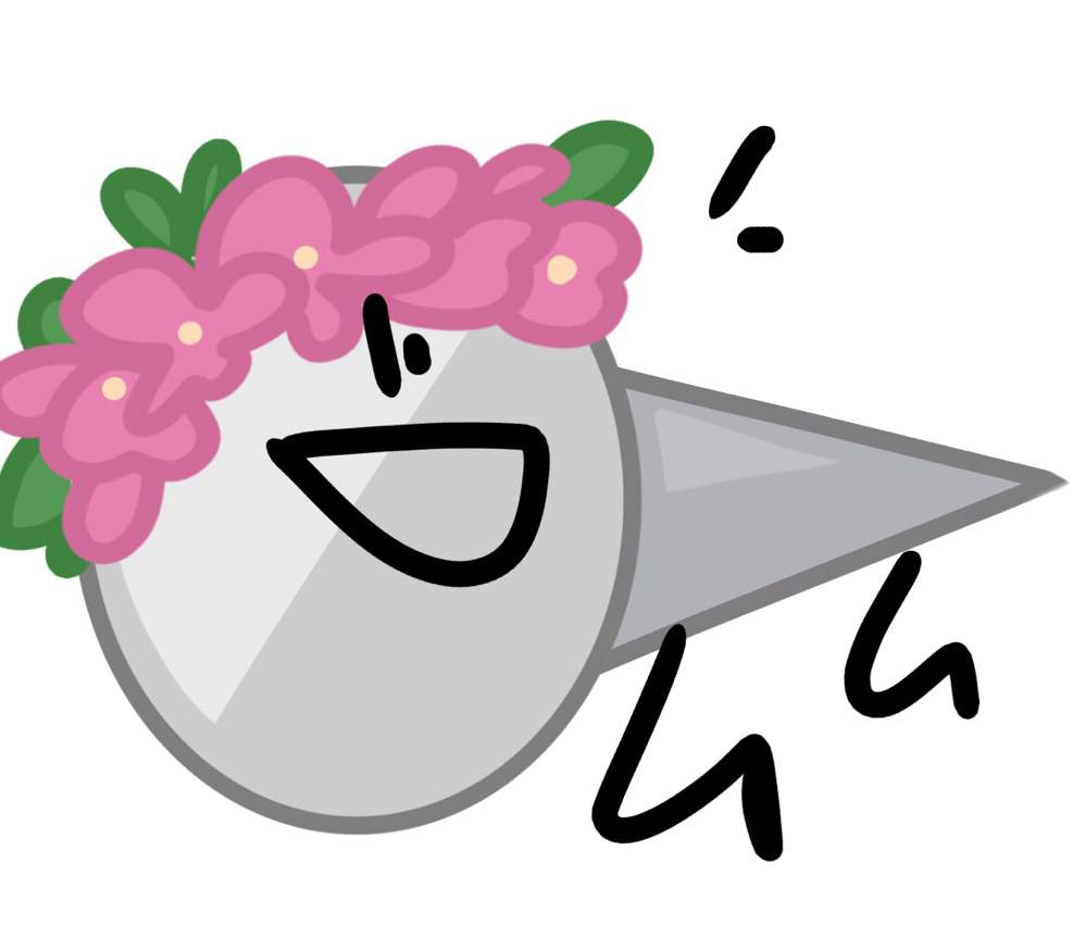 naily w/ flower crown | BFB Amino! Amino