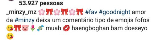 "MINZY on Instagram: "" #happysaturday #goodnight love"