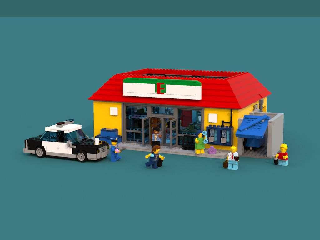 Simpson S Kiwk E Mart 71016 Lego Amino