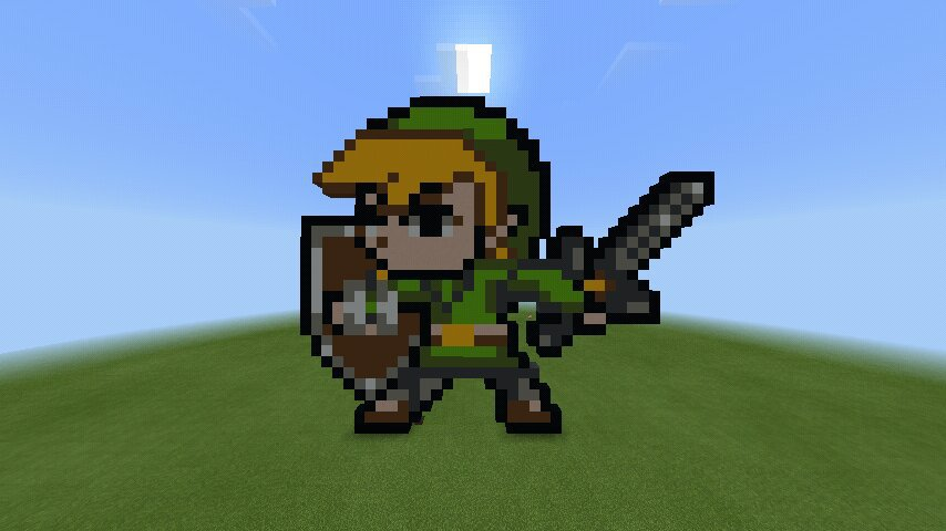 Link Pixel Art Minecraft Amino
