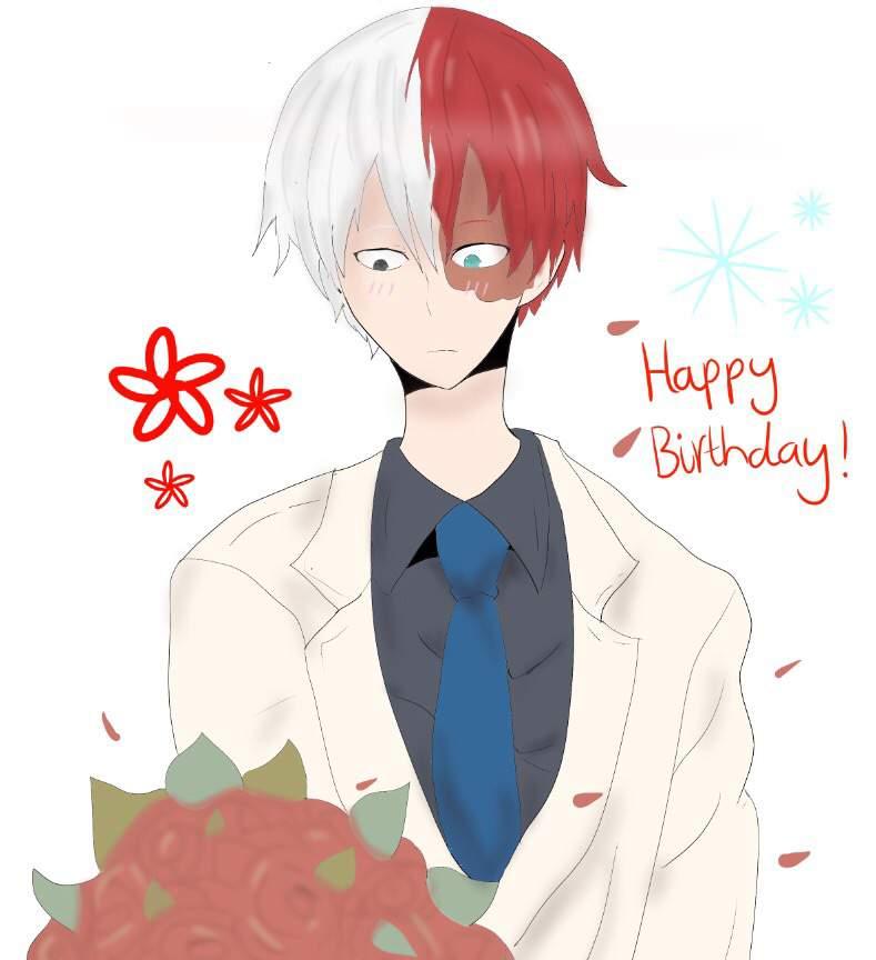 Happy Birthday ❄️Shoto Todoroki!!🔥💕 | My Hero Academia Amino