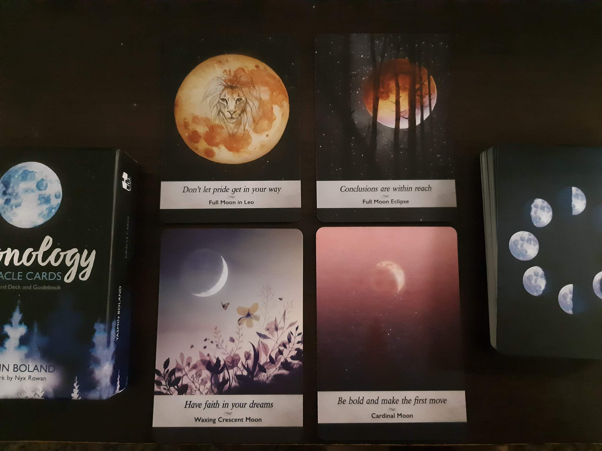 Moonology Oracle Cards Review | Tarot and Divination Amino