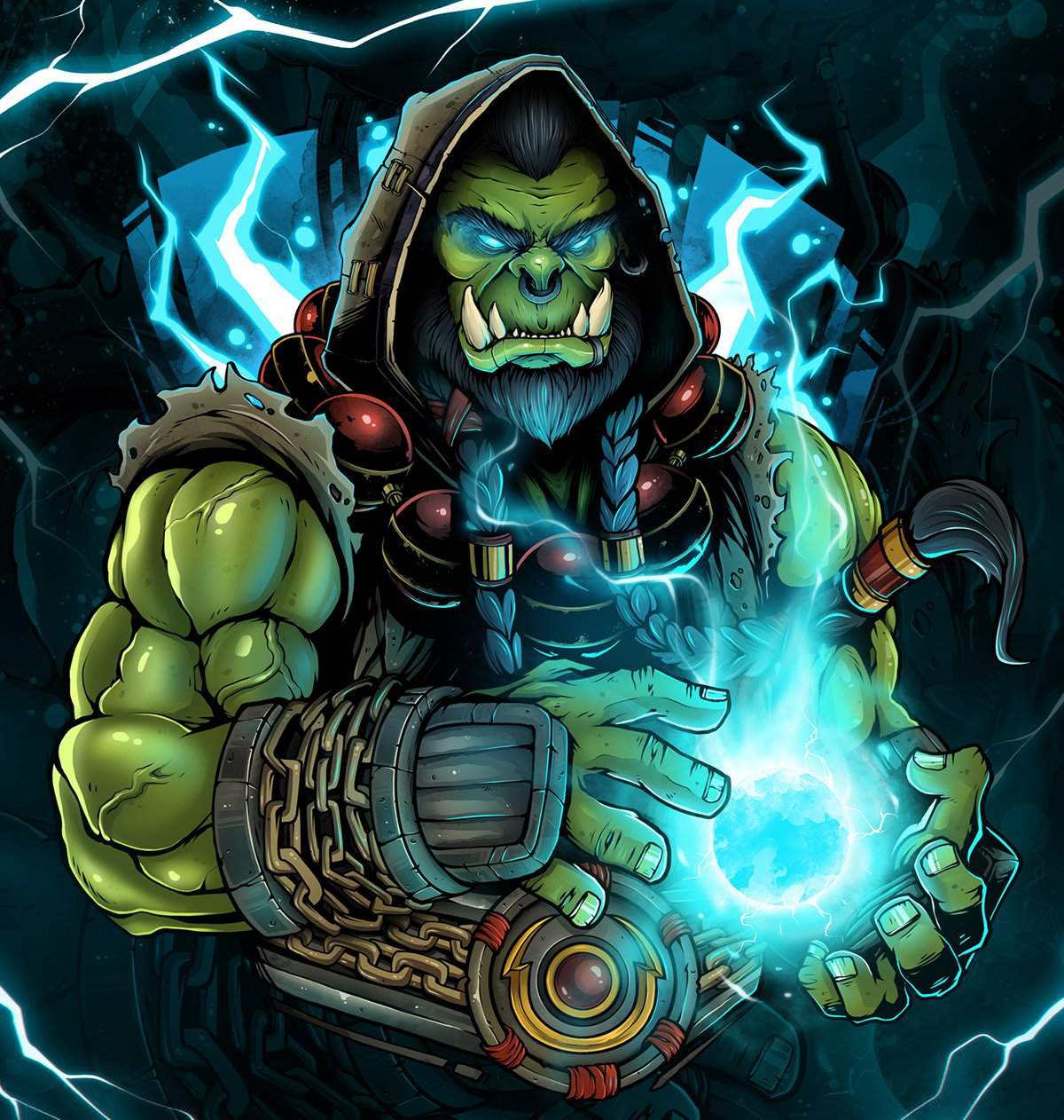 Тралл warcraft – Тралл — История World of Warcraft, Hearthstone и ... | 1262x1200
