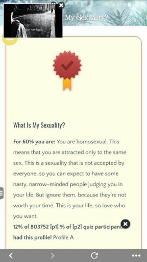 what is my sexuality test