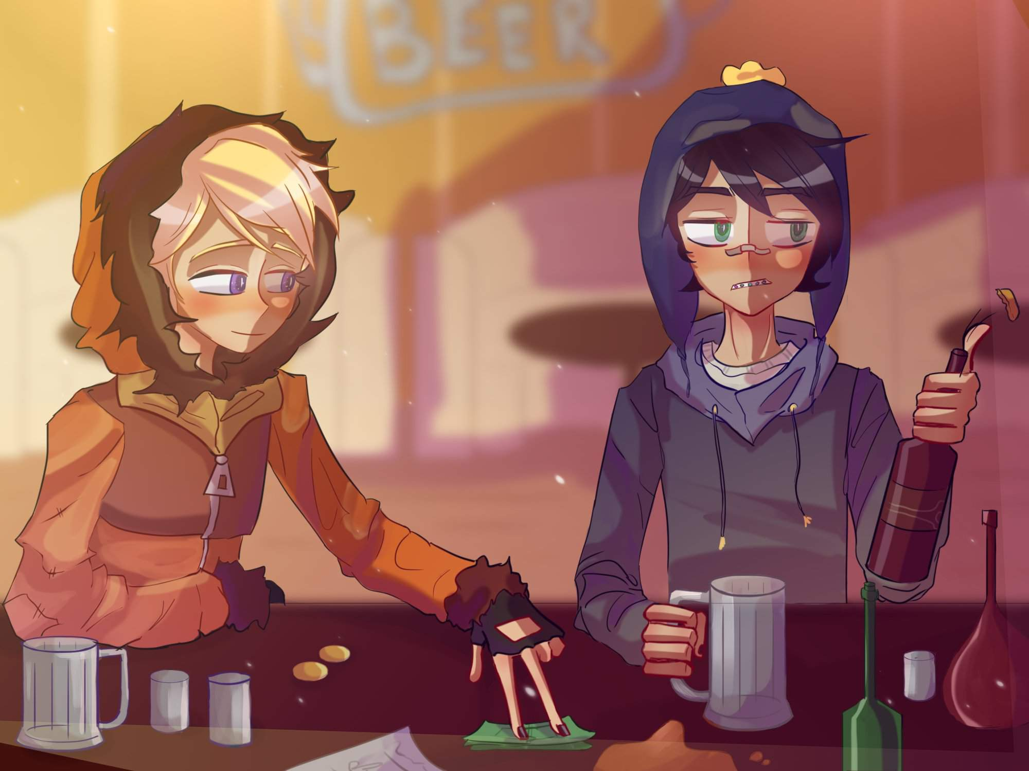 South Park Fan Art Crenny Week Day 1 Competition Competitive Craig X Kenny South Park Amino