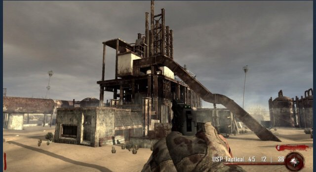 WaW Custom Zombies Map Review: MW2 Rust | Call Of Duty:Nazi ...