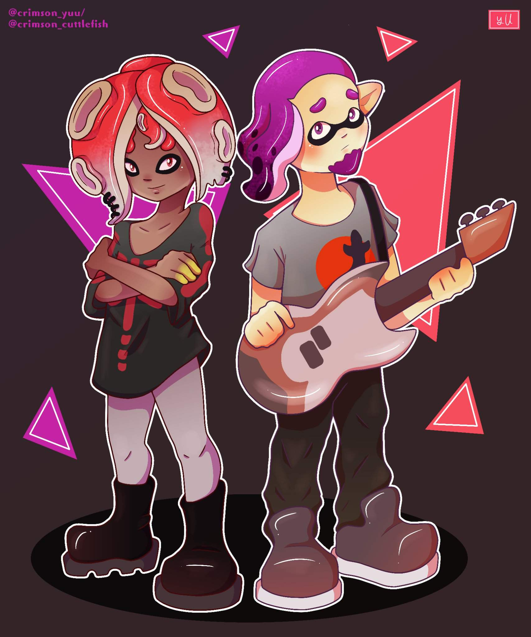 Diss-Pair (yes them again)+Splatoon band discord server | Splatoon2