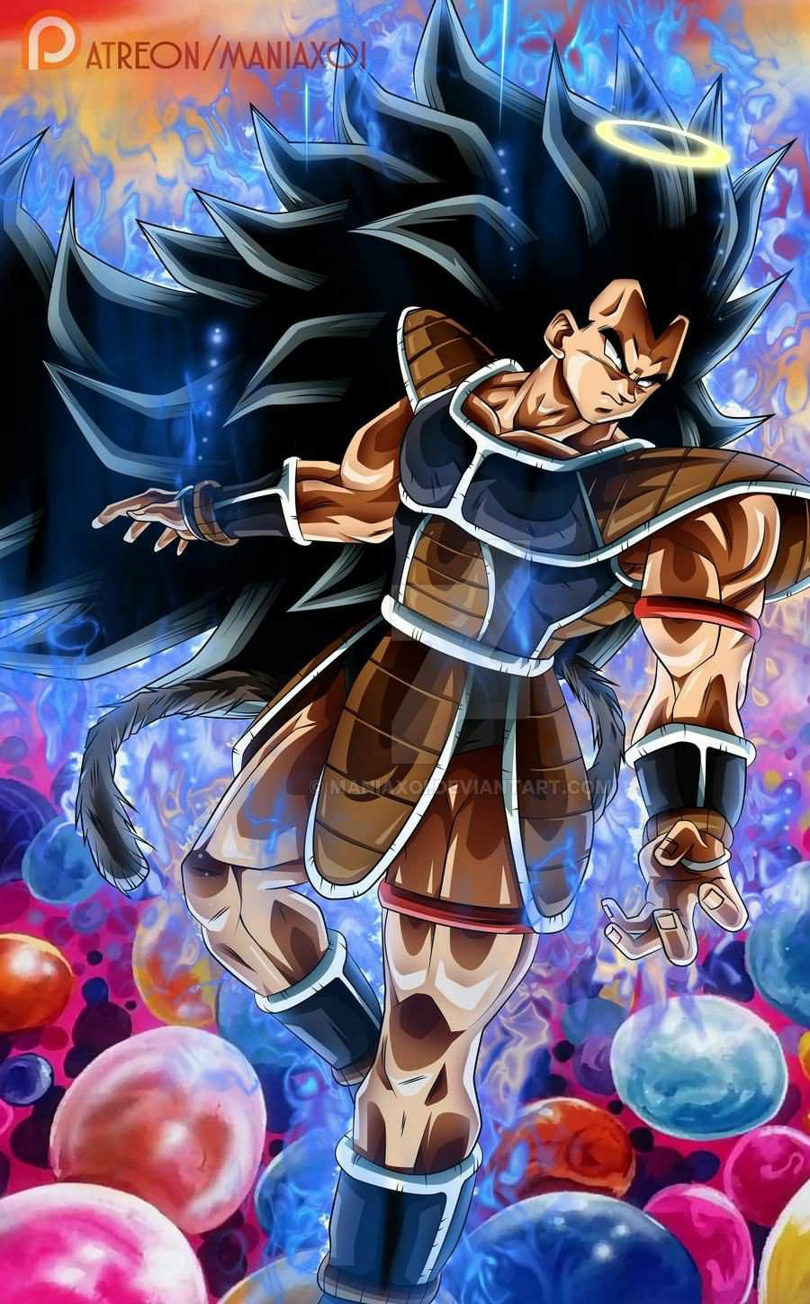 Masakox S What If Raditz Turned Good Dragon Ball Super Official