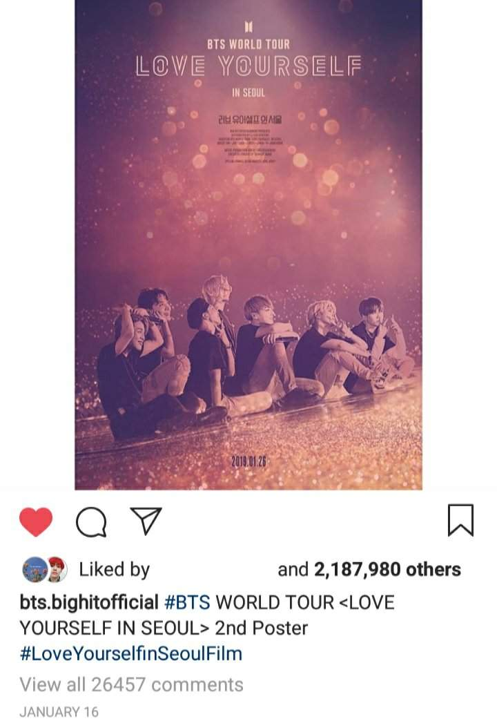 World Tour Love Yourself In Seoul 2nd Poster Land Of Otaku S Amino