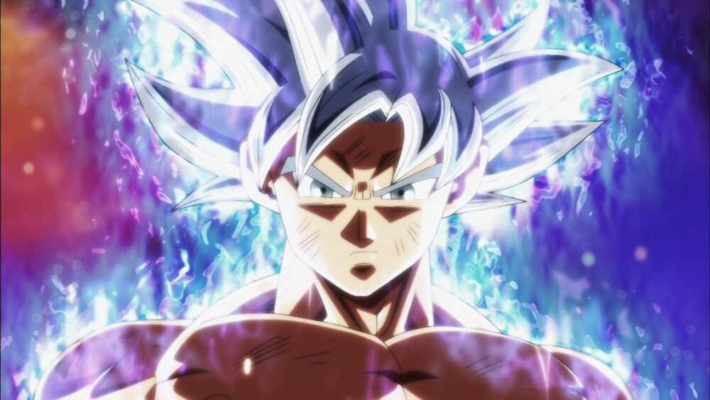 Fanart Goku Instinto Superior Dragon Ball Super