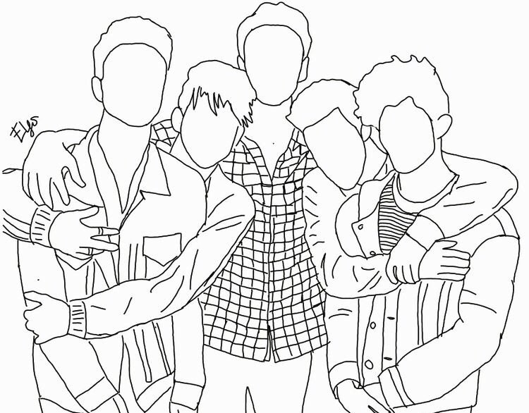 Guys I found this why don\'t we coloring page that you can ...