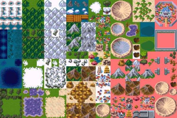 Do You Think REFMAP's RPG Maker 2003 Tiles Are Good? | RPG