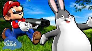 Mario's big chungus hunt