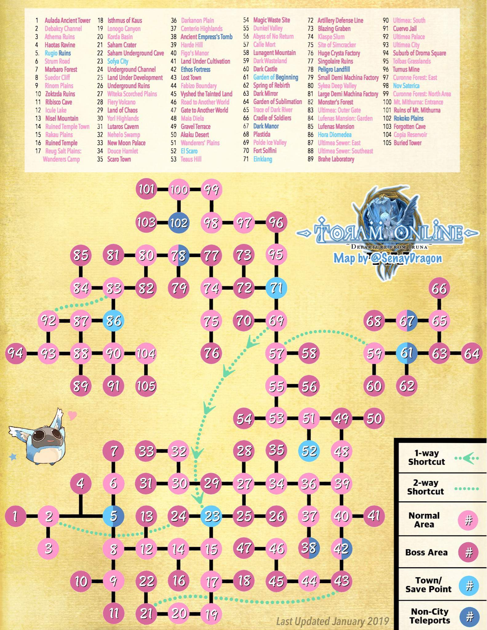 toram online world map Toram Map January 2019 Toram Online Amino