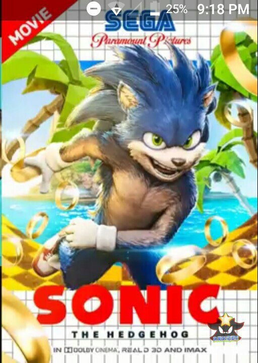New Sonic The Hedgehog 2019 Poster Sonic The Hedgehog Amino
